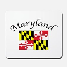 Maryland State Flag Mousepad