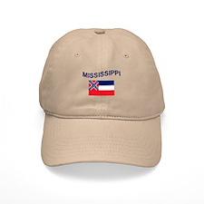 Mississippi Flag Baseball Cap