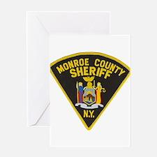 Monroe County Sheriff Greeting Card