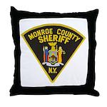 Monroe County Sheriff Throw Pillow