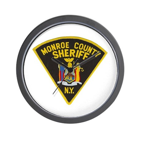 Monroe County Sheriff Wall Clock