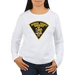 Monroe County Sheriff Women's Long Sleeve T-Shirt