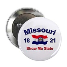 "Missouri State Flag 2.25"" Button"