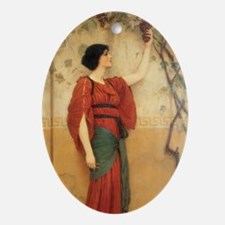 Autumn Oval Ornament
