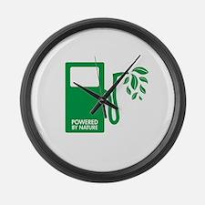 Biofuel Ethanol Green Large Wall Clock