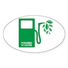 Biofuel Ethanol Green Oval Decal