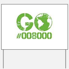 Green RGB Web Design Yard Sign