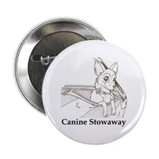 """Canine Stowaway 2.25"""" Button (10 pack)"""