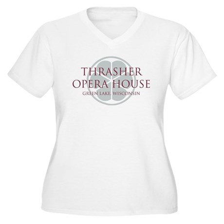 Thrasher Women's Plus Size V-Neck T-Shirt