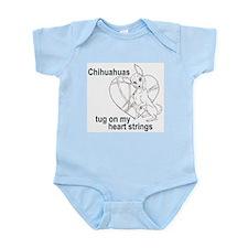 Chihuahua tug Infant Bodysuit