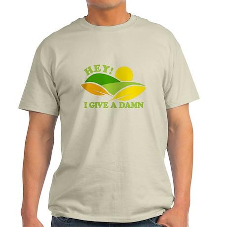 I Give A Damn Green Light T-Shirt