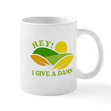 I Give A Damn Green Mug