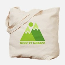 Keep It Green Recycle Tote Bag