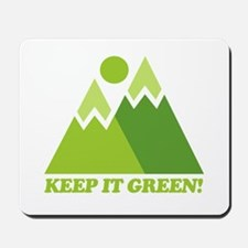 Keep It Green Recycle Mousepad
