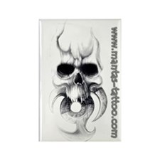 www.mantas-tattoo.com Rectangle Magnet