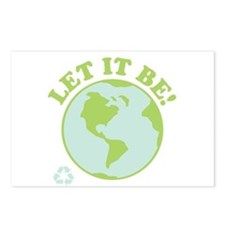 Let It Be Green Recycle Postcards (Package of 8)