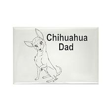 CuteChi Dad Rectangle Magnet