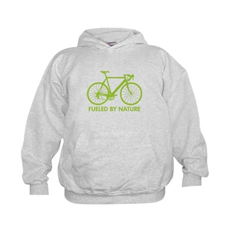 Bike Bicycle Green Kids Hoodie