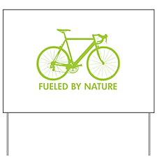 Bike Bicycle Green Yard Sign