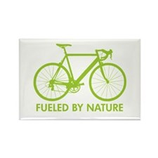 Bike Bicycle Green Rectangle Magnet