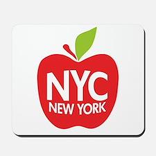 Big Apple Green NYC Mousepad