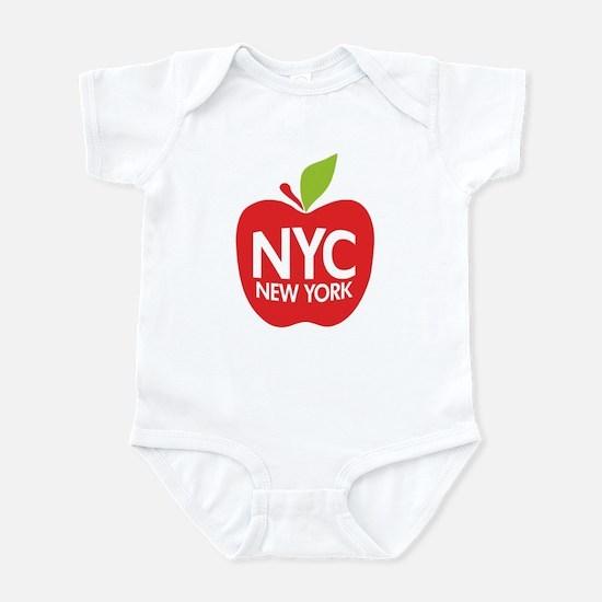 Big Apple Green NYC Infant Bodysuit