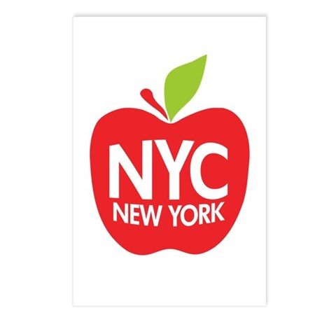 Big Apple Green NYC Postcards (Package of 8)