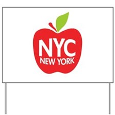 Big Apple Green NYC Yard Sign