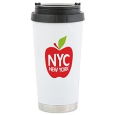 Big Apple Green NYC Travel Coffee Mug