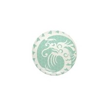 Chinese Dragon Mini Button (10 pack)