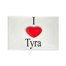 Tyra Rectangle Magnet