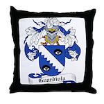 Guardiola Coat of Arms Throw Pillow