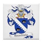 Guardiola Coat of Arms Tile Coaster