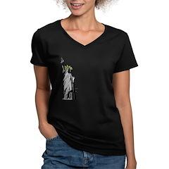 Banksy Style Liberty Gun Shirt