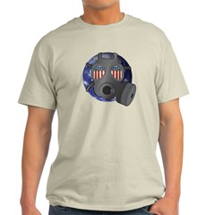 Policial Banksy style Mask T-Shirt