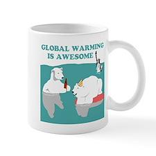 Global Warming Awesome Mug