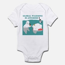 Global Warming Awesome Infant Bodysuit