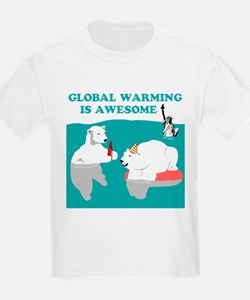 Global Warming Awesome T-Shirt