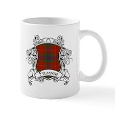 Fraser Tartan Shield Small Mugs