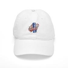 4th of July Baseball Cap