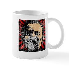 Gas Mask Banksy Style Mug