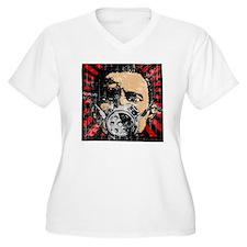 Gas Mask Banksy Style T-Shirt