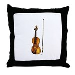 Fiddle Throw Pillow