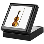 Fiddle Keepsake Box