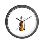 Fiddle Wall Clock