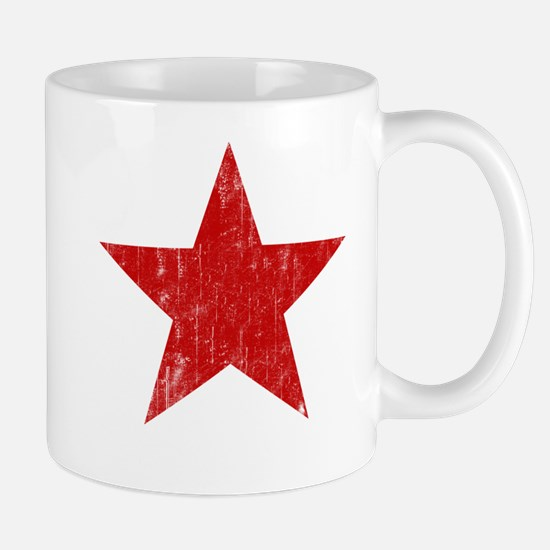 Punk Star Red Mug