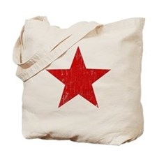 Punk Star Red Tote Bag