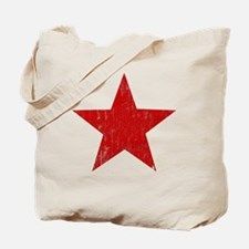 Punk Star Red Tote Bag