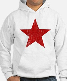 Punk Star Red Hoodie Sweatshirt