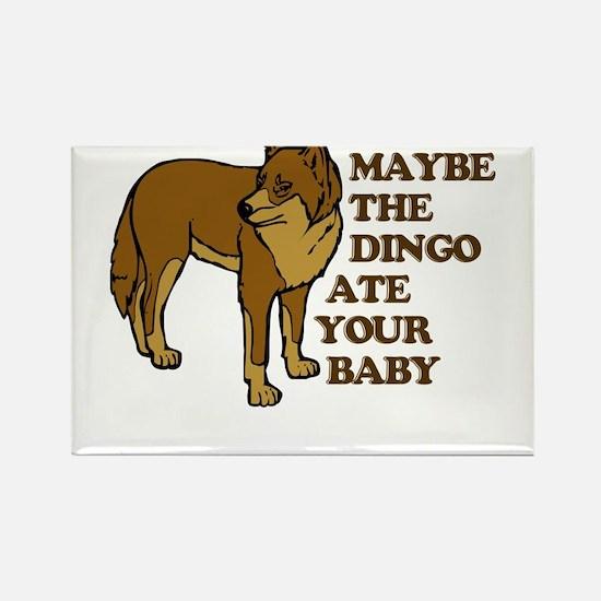 Dingo Baby Seinfeld Rectangle Magnet
